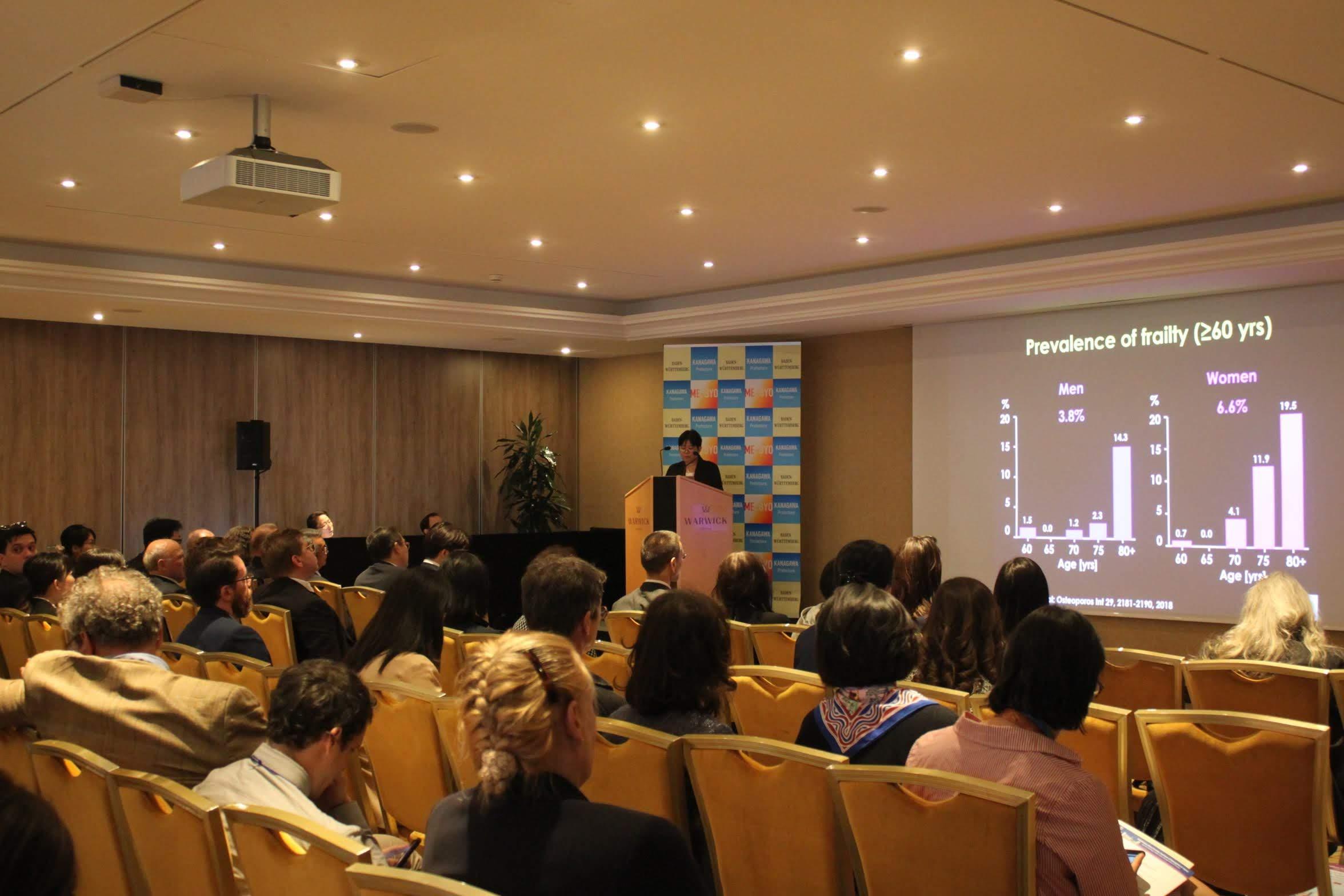 """5月22日(水)スイス・ジュネーブにて、WHO総会時イブニングセミナー""""ME-BYO: Building a Better Future through Behavior Change""""に参加しました。"""